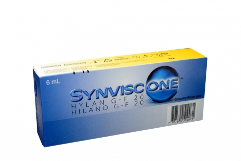 Synviscone One 8 mg / mL Caja Con 1 Jeringa Prellenada Con 6mL Rx
