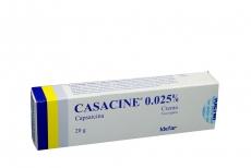 Casacine 0,025 % Caja Con Tubo Con 20 g Rx