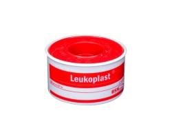 """Esparadrapo Leukoplast 1"""" x 5 Yardas Rollo Con 1 Unidad"""