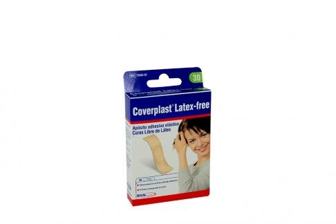 Coverplast Latex Free Curas Libres De Látex Caja Con 30 Unidades