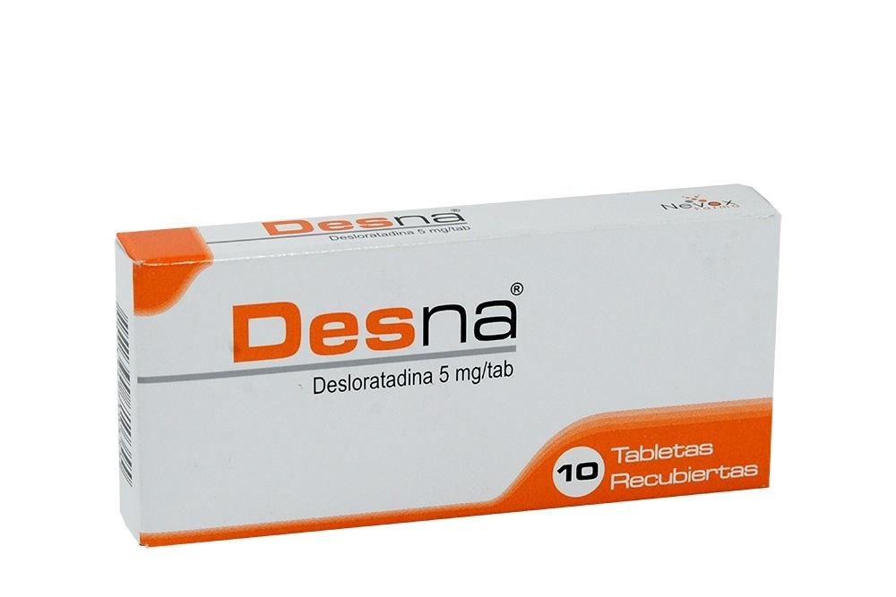 Desna 5 mg Caja Con 10 Tabletas Recubiertas Rx