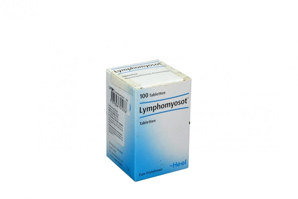 Lymphomyosot Frasco Con 100 Tabletas Rx