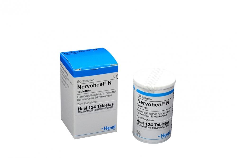 Nervoheel Caja Con Frasco Con 50 Tabletas RX