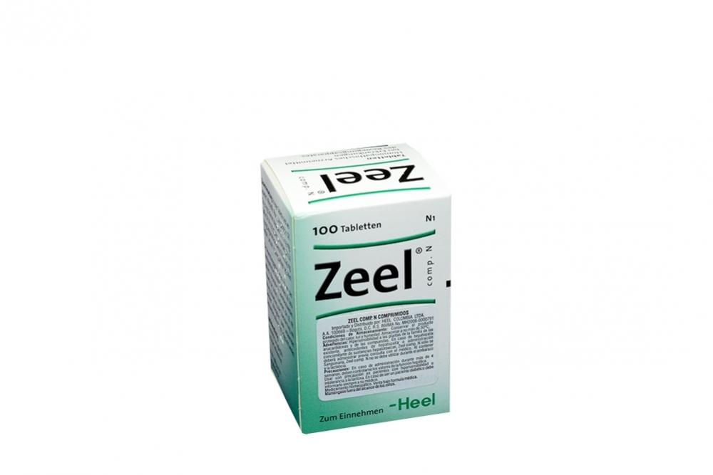 Zeel Comp N Caja Con Frasco Con 100 Comprimidos RX
