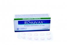 Garmish Rosuvax 10 mg Caja Con 30 Tabletas Rx
