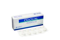 Duoval 5 / 80 mg Caja Con 30 Tabletas Rx4