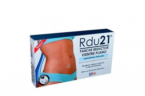 Rdu21 Reductor Vientre Plano Caja Con 28 Parches – Reducir Medidas