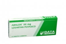 ARALOX 50 MG CAJA X 15 TABLETAS Rx