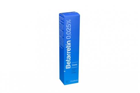 Betarretín 0.025 % Crema Caja Con Tubo x 30 g Rx