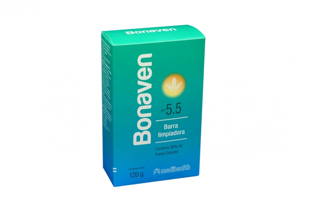 Barra Limpiadora Bonaven Ph 5.5 Caja Con 120 g
