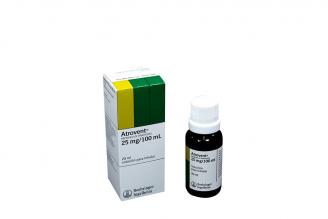 Atrovent 0.25 % Solución Caja Con Frasco Con 20 mL RX