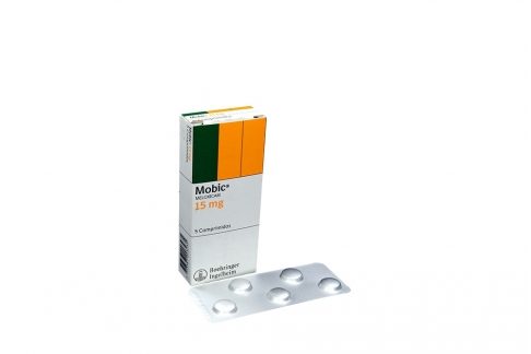 Mobic 15 mg Caja Con 5 Comprimidos Rx