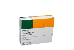 Mobic Inyectable 15 mg / 1,5 mL Con 3 Ampollas Rx