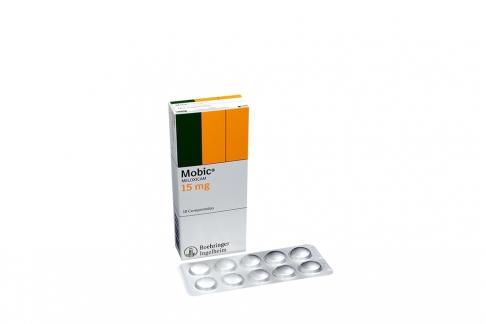 Mobic 15 mg Caja Con 10 Comprimidos Rx
