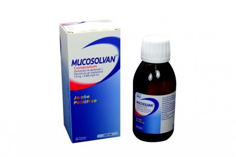 Mucosolvan 7.5 / 0.005 mg / 5 mL Caja Con Frasco Con 120 mL
