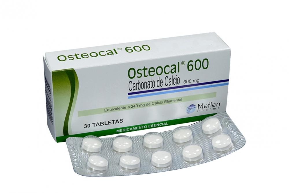 Osteocal 600 mg Caja x 30 Tabletas