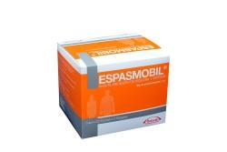 Espasmobil 300 / 10 mg  Caja Con 25 Sobres Con 4 Grageas Rx