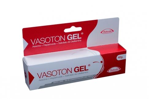 Vasoton Gel Caja Con Tubo Con 40 g