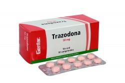 Trazodona 50 mg Caja Con 50 Comprimidos Rx