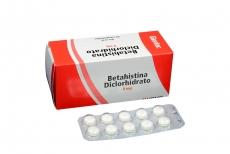 Betahistina 8 mg Caja Con 50 Tabletas Rx