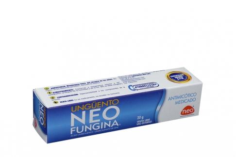 Neofungina Ungüento Caja X 20g