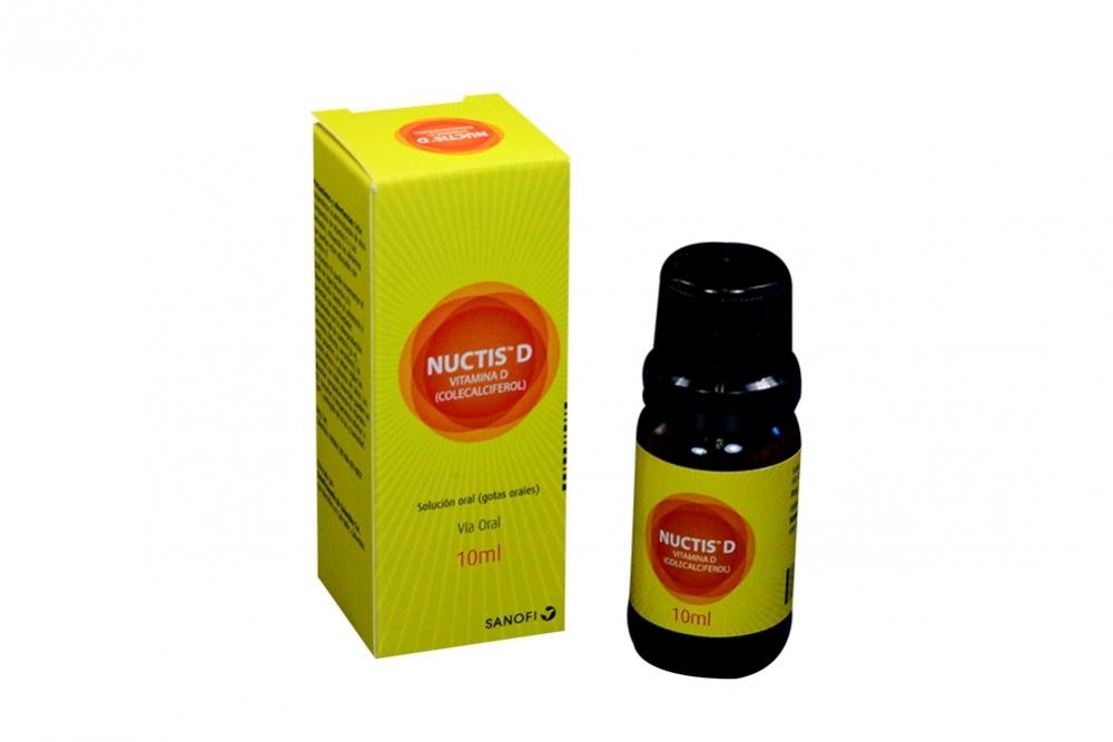 Nuctis D Caja X 10 mL Gotas Orales Rx