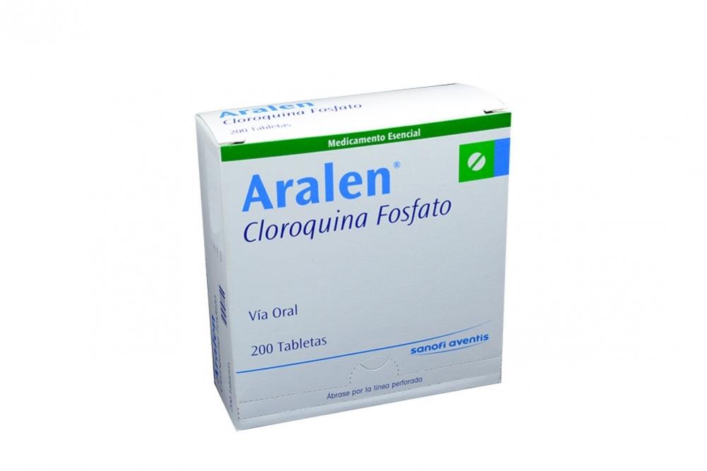 Aralen 150 mg Caja Con 200 Tabletas Rx