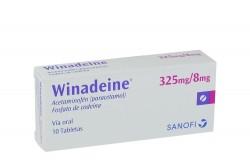 Winadeine 325 / 8 mg Caja Con 10 Tabletas Rx4
