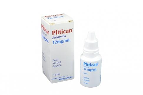 Plitican Gotas 12 mg / mL Frasco x 15 mL Solución Rx