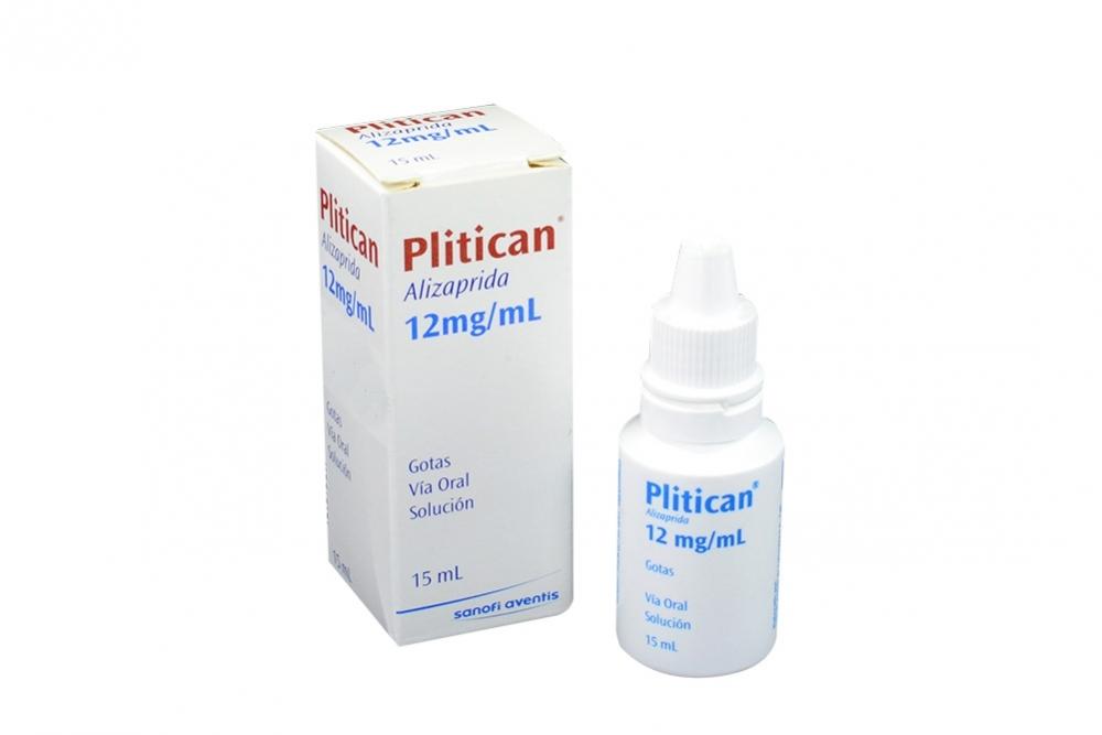 Plitican Gotas 12 mg / mL Caja Con Frasco Con 15 mL Solución Rx