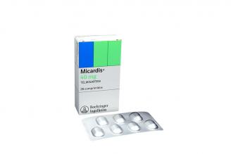Micardis 40 mg Caja Con 28 Comprimidos Rx