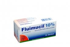 Fluimucil 10% Solución Para Inhalación Caja Con 1 Ampolla Con 25 mL Rx
