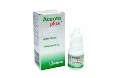 Aceoto Plus Gotas Óticas Caja Con Frasco Con 10 mL Rx2