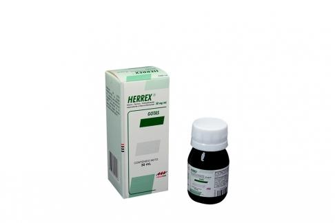Herrex Gotas 50 mg Caja Con Frasco Con 30 mL Rx4