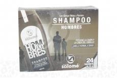 SHAMPOO HOMBRES MARÍA SALOMÉ - CAJA X 24 SOBRES