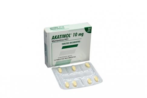 Akatinol 10 mg Caja Con 14 Tabletas Recubiertas Rx4