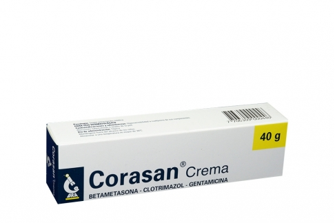 Corasan Crema Caja Con Tubo x40g Rx