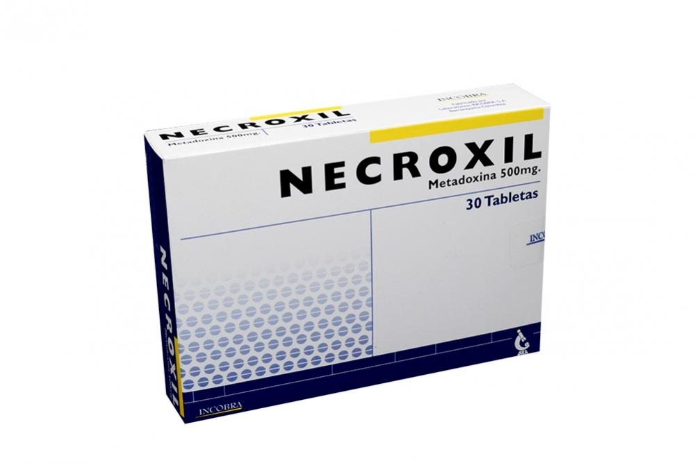 Necroxil 500 mg Caja Con 30 Tabletas Rx4