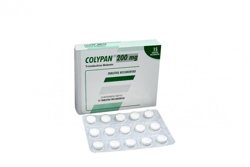 Colypan 200 mg Caja Con 15 Tabletas Recubiertas Rx