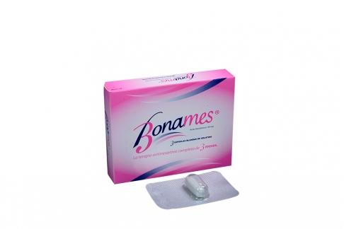 Bonames 150 mg Caja Con 3 Cápsulas Blandas De Gelatina Rx4