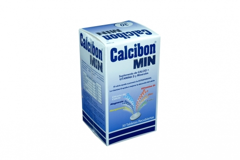 Calcibon Min Caja x 30 Tabletas Recubiertas