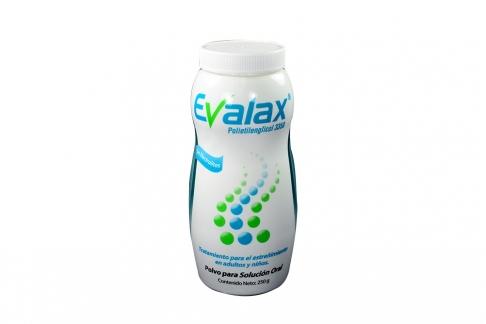 Evalax Frasco x 250g Polvo Para Solución Oral