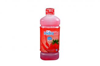 Hidranta Zinc Suero Oral Frasco Con 500 mL - Sabor Fresa