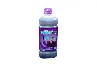 Hidranta 60 Meq Suero Oral Frasco Con 500 mL - Sabor Uva