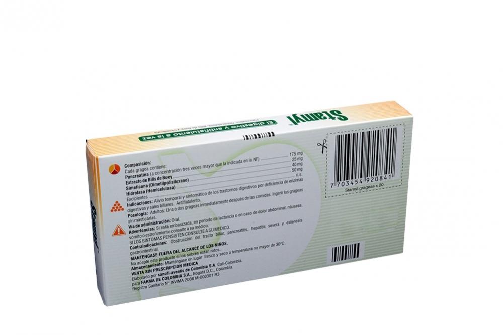 Comprar stamyl caja 20grageas en farmalisto colombia - Caja de herramientas precio ...