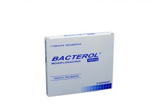 Bacterol 400 mg Caja Con 7 Tabletas Recubiertas Rx2