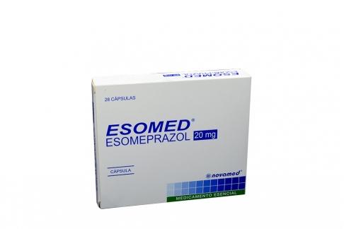 Esomed 20 mg Caja Con 28 Cápsulas Rx