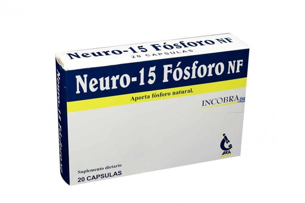 Neuro 15 Fósforo NF Caja x 20 Cápsulas