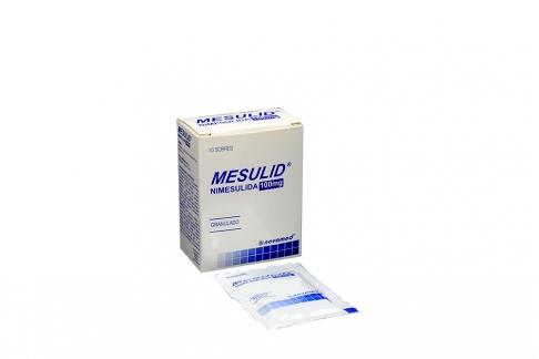 Mesulid 100 mg Caja Con 10 Sobres Granulados Rx