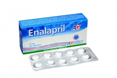 Enalapril 5 mg Caja Con 30 Tabletas Rx